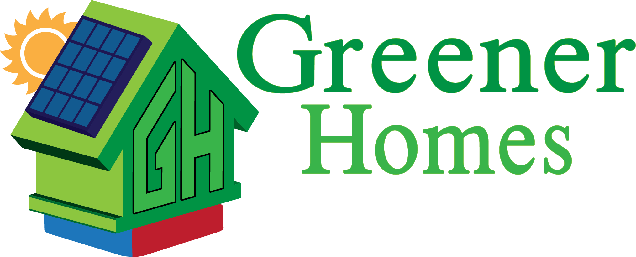 Greener Homes Full Logo - 2048px