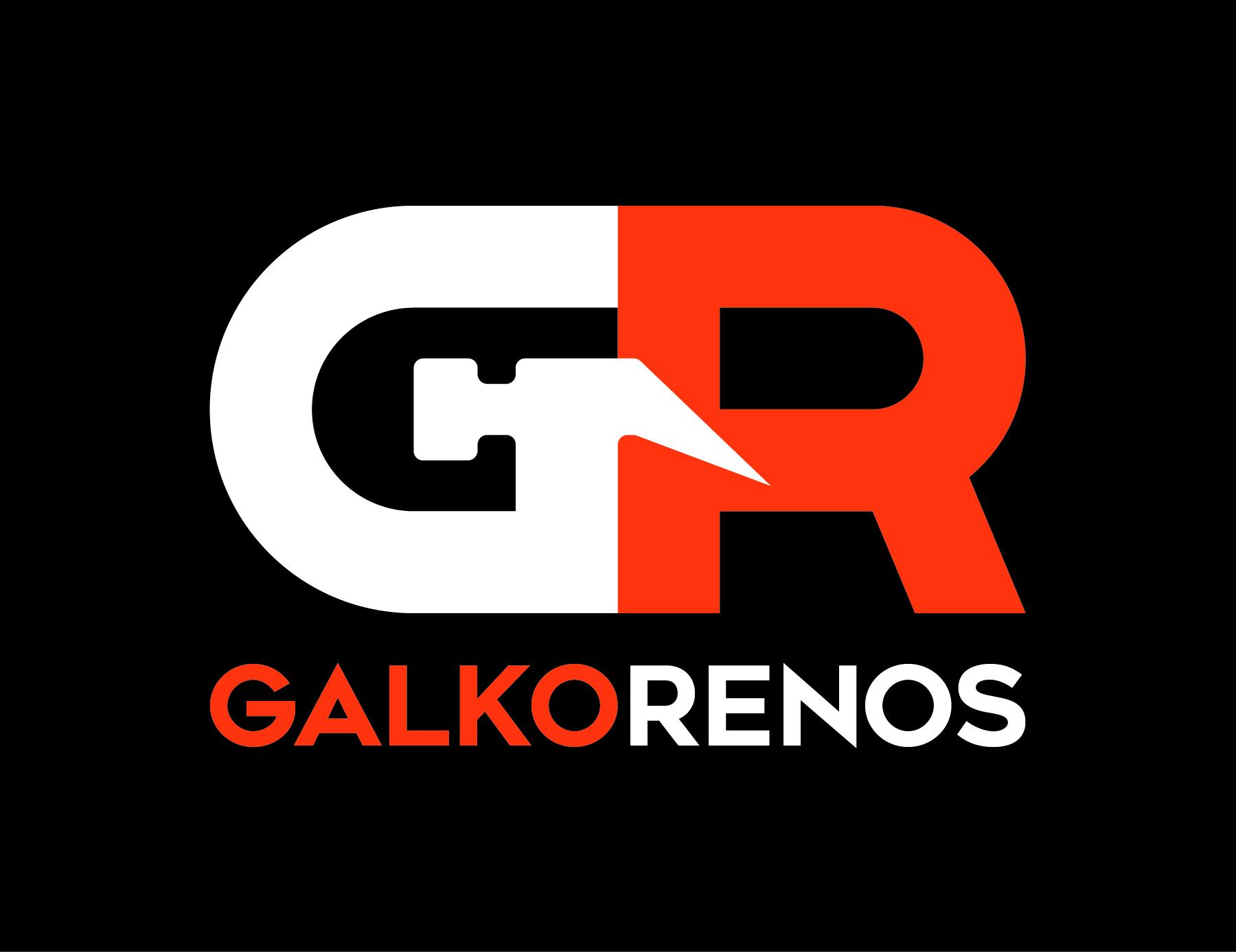 Logo - Galko Renos - Black - CMYK - 300 DPI