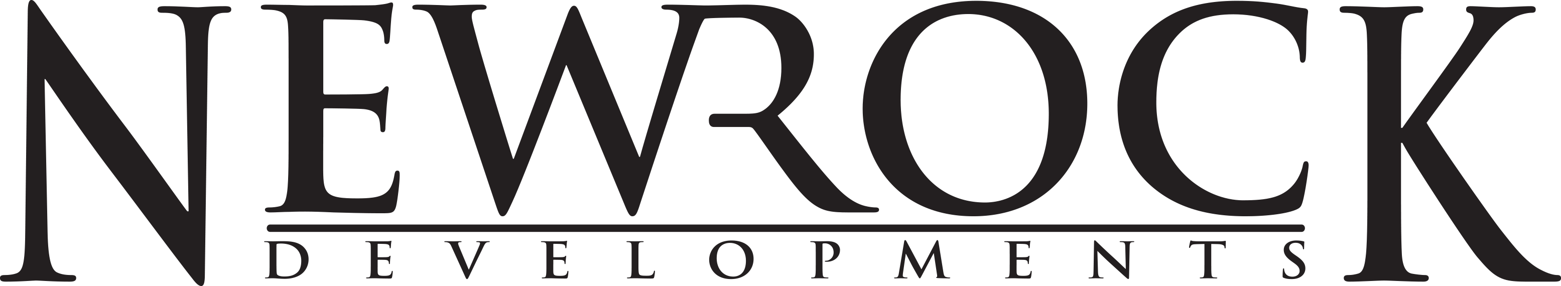 NewRock Logo - Black PNG
